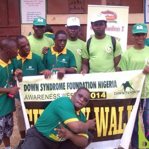 Benola Joins Down Syndrome Federation of Nigeria in a Charity Walk